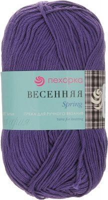Пряжа Пехорка Весенняя Цвет.78 Фиолетовый