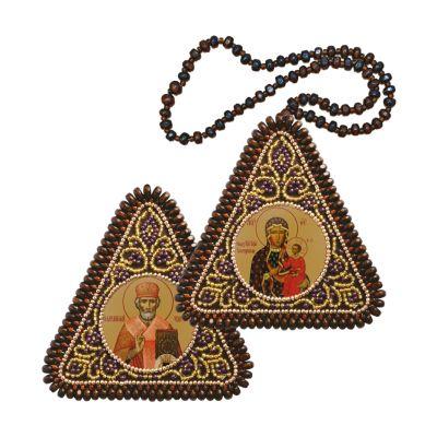 ТР1035 Богородица Одигитрия и Св.Николай Чудотворец