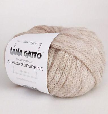 Пряжа Lana Gatto Пряжа Lana Gatto Alpaca Superfine Цвет.7608