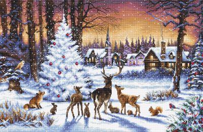 947 - Рождественский лес