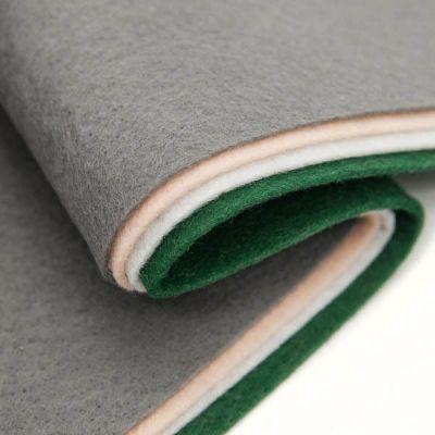 Ткань Астра Фетр листовой ассорти 20х30см, 1,4мм, 180гр. (4шт.) АСТРА (10)