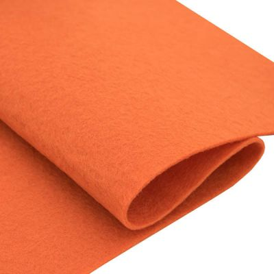 Ткань Астра Фетр листовой Астра, 1,0мм, 180 гр, 20х30см, 10 шт/упак (YF 627 оранжевый)