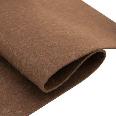 Ткань Астра Фетр листовой Астра, 1,0мм, 180 гр, 20х30см, 10 шт/упак (YF 690 коричневый)