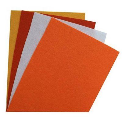 Ткань Астра Фетр листовой ассорти 20х30см, 1,4мм, 180гр. (4шт.) АСТРА (4)