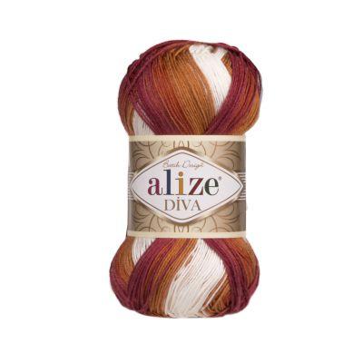 Пряжа Alize Diva Batik Цвет.7107