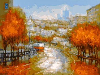 Набор для рисования по номерам Белоснежка 348-AS Осенняя симфония (Белоснежка)