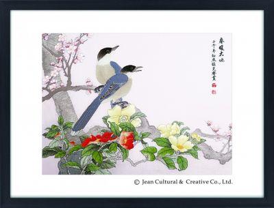 Набор для вышивания Xiu Crafts 2800125 Приход весны - набор (Xiu Crafts)