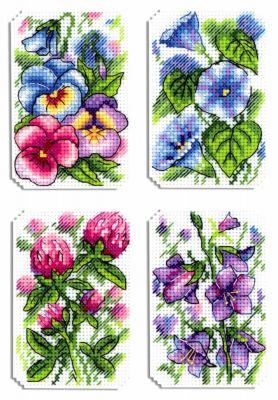 Фото - Набор для вышивания МП Студия Р-491 Цветочная симфония (МП Студия) набор для вышивания мп студия р 346 бабушка яга