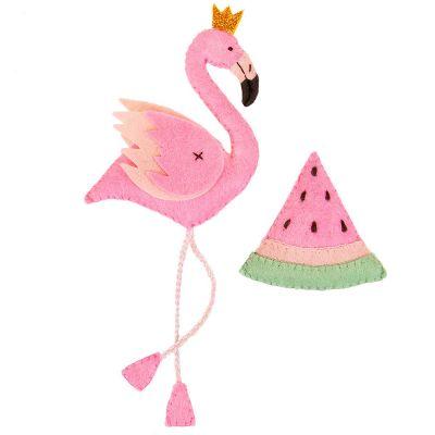 Набор для изготовления игрушки Miadolla TF-0309 Райский фламинго (Miadolla)