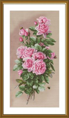 Фото - Набор для вышивания Nova Sloboda СВ6240 Королева летнего сада валерий пикулев отлетнего сада к