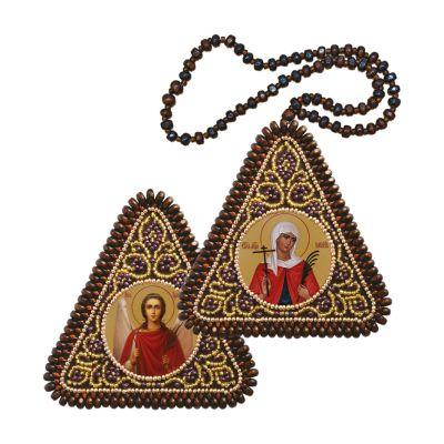ТР1206 Св. Мц. Валентина и Ангел Хранитель