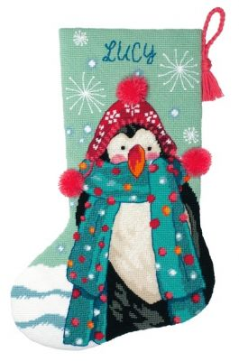 9160 DMS Сапожок Пушистый пингвин