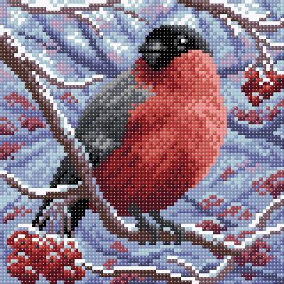 Набор для вышивания Brilliart МС-002 Снегирь