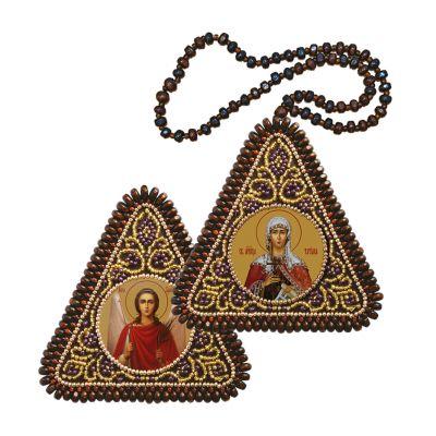 ТР1237 Св. Мц. Татиана и Ангел Хранитель