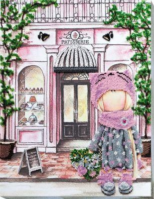 Фото - Набор для вышивания Абрис Арт АВ-739 За десертом набор для вышивания абрис арт ав 687 чеширский кот