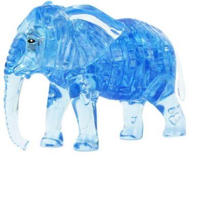 Пазлы Crystal Puzzle 9058 Слон черный 3d пазл diy house магический кристалл слон 9058