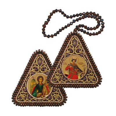 ТР1214 Св. Вмц. Екатерина и Ангел Хранитель
