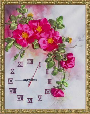Набор для вышивания FeDi ЛП5605 Часы Акварель - набор
