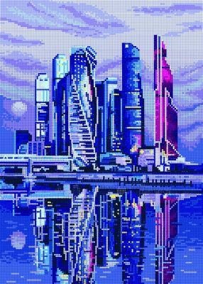 Алмазная мозаика Наследие Алмазная вышивка БСА2-115 Вся Москва сияет