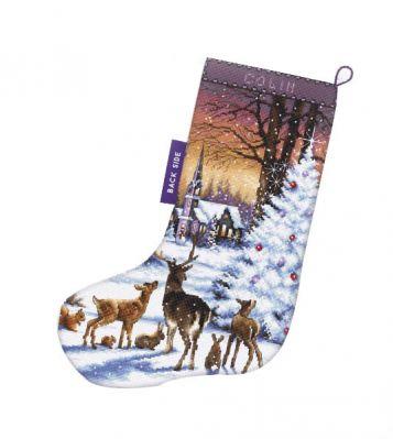 948 - Сапожок. Рождественский лес
