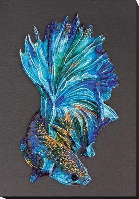 Фото - Набор для вышивания Абрис Арт АВ-746 Синее золото набор для вышивания абрис арт ав 687 чеширский кот