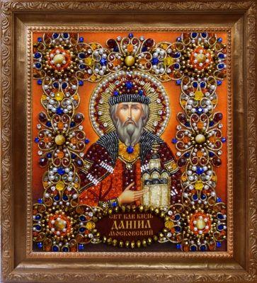 Набор для вышивания Хрустальные грани Ии-34 Святой Даниил - набор