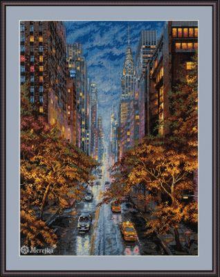 К-172  Осень в Нью-Йорке