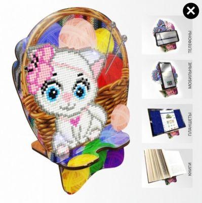 Набор для вышивания Art Solo APM-08 Кошечка Рукодельница