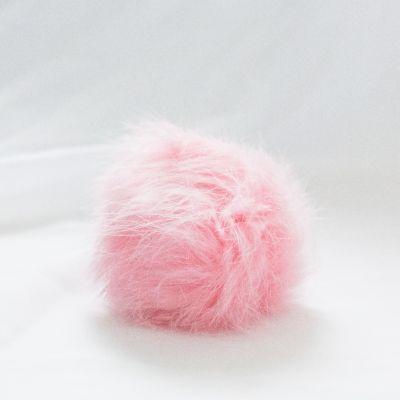 Помпон - Помпон D6-9 мех кролик Цвет.11 Розовый