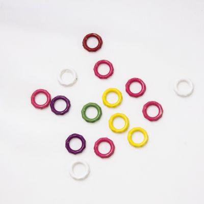 Аксессуар для вязания - Маркеры для вязания (маркировочные кольца) микс цветов, 15 шт
