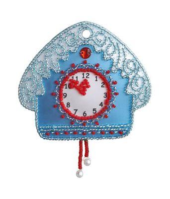 Набор для вышивания Nova Sloboda РВ2106 Часы