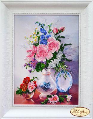 Фото - Набор для вышивания Tela Artis НТК-021 - Утонченный натюрморт - набор (Tela Artis) набор для вышивания tela artis нтк 030 поп арт кот набор tela artis