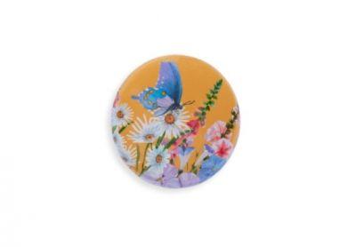 Игольница Gamma 03 Бабочка в цветах, Игольница-магнит NEM в пакете с еврослотом