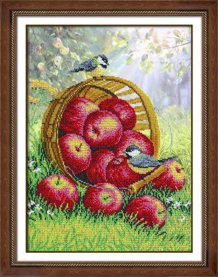 Набор для вышивания Паутинка Б1299 Наливные яблочки (Паутинка)