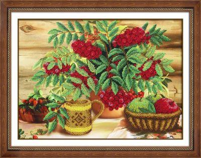 Набор для вышивания иконы Паутинка Б1289 Осенний натюрморт (Паутинка) набор для вышивания иконы паутинка б720 св муч царица александра паутинка