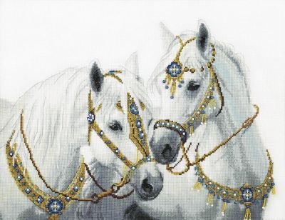 Набор для вышивания Чарiвна Мить М-426 Свадебные лошади - чм