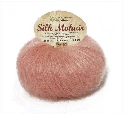 Пряжа Midara Пряжа Midara Silk mohair Цвет.770