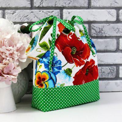 Фото - Органайзер Arapova A. Органайзер рукодельницы. Маки/зеленый маячок для ножниц arapova a маячок для ножниц бабочка в сердце