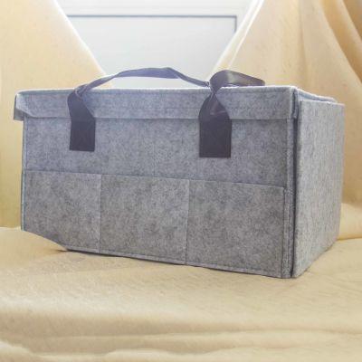 Органайзер Holy Polly 10000041 Войлочный органайзер-коробка для хранения процессов и рукодельных принадл. Grey Box