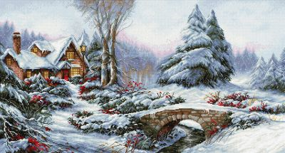 BU5002 Зимний пейзаж