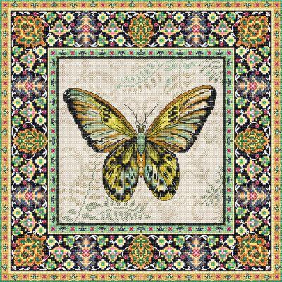 981 - Винтажная бабочка