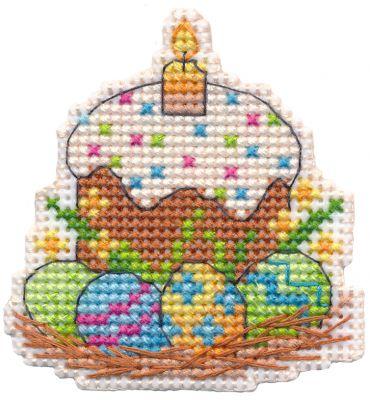 Набор для вышивания Овен 1382 Магнит. Пасха (Овен)