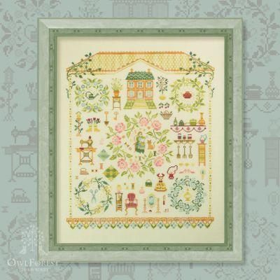 Набор для вышивания OwlForest 0051-МД-Н-3Bf Милый дом