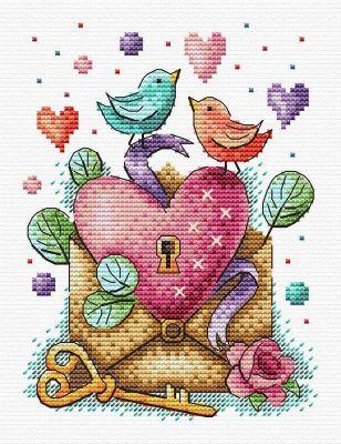 Набор для вышивания МП Студия М-602 День влюбленных (МП Студия)
