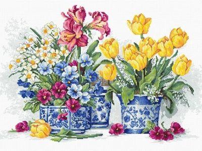 B2385 Весенний сад