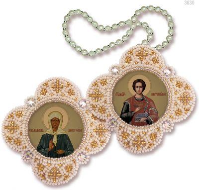 РВ3630 Св.Пантелеймон Целитель Св.Матрона Московская