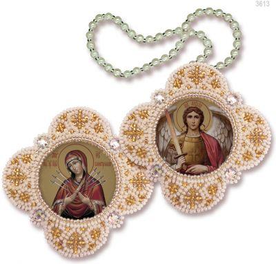 РВ3613 Богородица Семистрельная Архангел Михаил