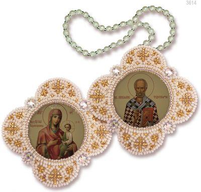 РВ3614 Богородица Скоропослушница Св.Николай Чудотворец
