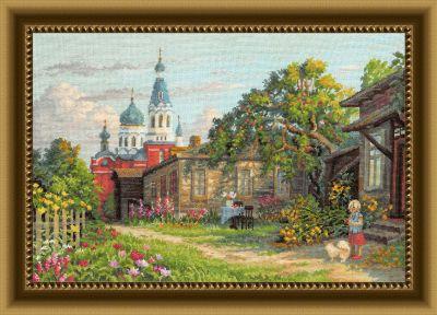 Набор для вышивания Золотые ручки ЗХ-027 Яблочный Спас (ЗР)