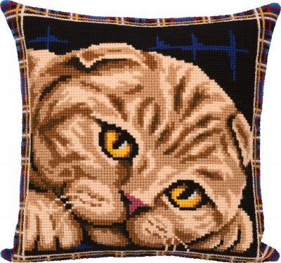 PD-7123 Подушка. Шотландская кошка